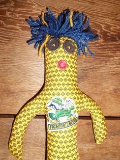 Notre Dame Damn Damn Doll - Fighting Irish by tobeesgifts on Etsy, $18.95