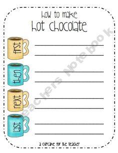 FREE: How to Make Hot Chocolate
