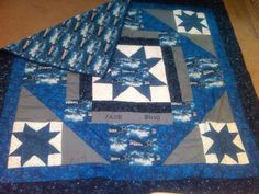 Quilt i made for a die hard dallas cowboy fan