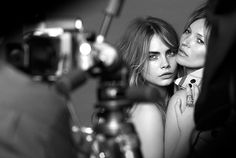 First look: Kate Moss and Cara Delevingne model together for Burberry's new fragrance campaign
