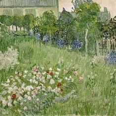 Vincent Van Gogh, Daubigny's Garden, oil on canvas, 1890