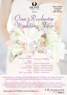 Singapore Online Wedding Guide | ExtraOrdinary Weddingsfor additionals details. http://www.extraordinary.com.sg/