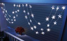 LED Star Garland $9.97
