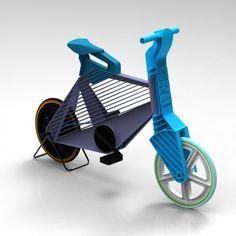 Frii Recycled Plastic Bike