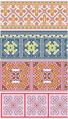 Hmong-inspired borders