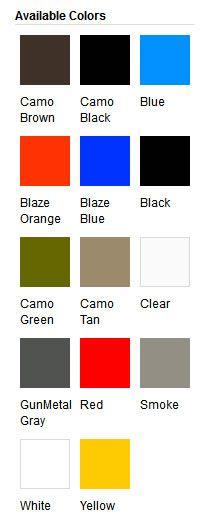 Plasti Dip Available Colors
