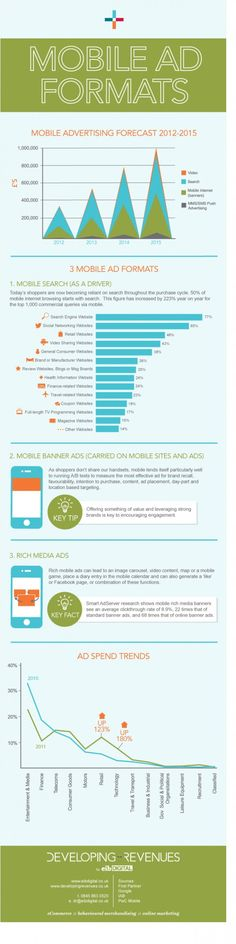 Mobile Ad Formats | Developing Revenues - eCommerce guides and infographics