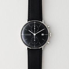 Junghans Max Bill Chronoscope | Mens Watches | Steven Alan