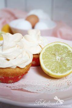 Behyflora... la vie en rose: Lemon Meringue Cupcakes