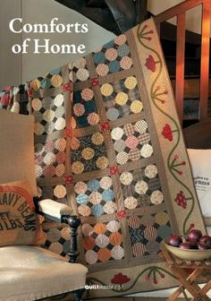 Comforts of Home, from Quilt Mania  created by norma whaley