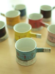 japanese pottery #teacuphandles