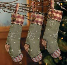 christma stock, countri christma, rustic christma, christma decor, stock ornament, country christmas, christmas stockings, christmas ornaments, christmas trees