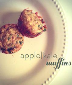 Apple kale muffin recipe