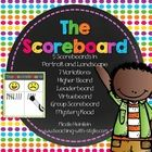 Implement the Whole Brain Teaching Scoreboard strategy in style! FREE