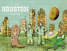 Everything Houston! Off the beaten path places to eat, shop, visit and be amused! Great resource guide.