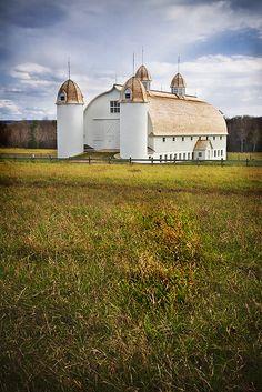 .white barn
