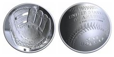 The U.S. Mint will produce a curved(!) baseball-themed coin in 2014  I want to get this for Ryan for his birthday!