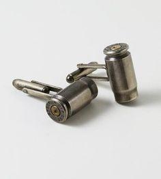 Recycled Bullet Cufflinks  (partner)