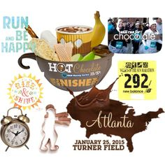 """run for chocolate"" by mrsp2u on Polyvore"