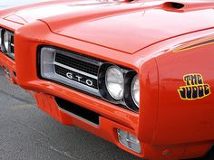 The iconic grill of the GTO Judge...nice beak.