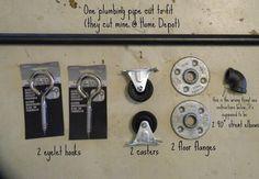 Fig Milkshakes: DIY Sliding Barn Door