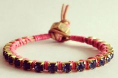Vylet-Collection_Tan-Neon-Pink-Bracelet_32