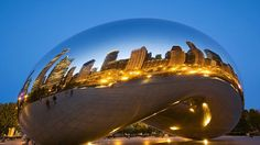 """Head to the Windy City to see """"The Bean""""! windi citi"""