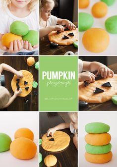 Pumpkin Playdough.