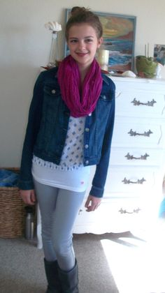 One of my favorite Fall outfits. Cute tween and Teen outfit.