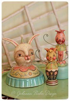Spring-Trio-by-Johanna-Parker by Johanna Parker Design, via Flickr