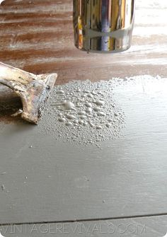 How To Strip Furniture Using A Heat Gun!  SO MUCH EASIER than chemical strippers!!