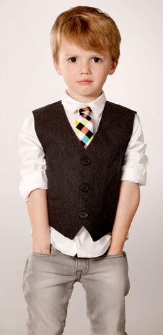 Toddler Boy Fashion - So stinkin' cute! I will totally dress my little boy like this someday :)