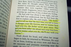 LOVE The Notebook!