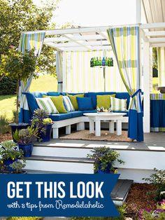 Get This Look - Cozy Outdoor Room