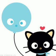 Chococat hello kitti, sanrio smile, imagen kawaii, wallpap, balloon, hellokitti, sanrio chococat, thing