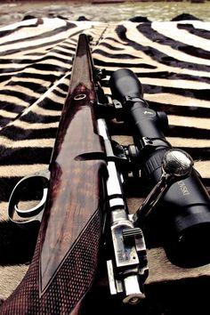 Hunting rifle in danish design