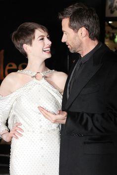 Les Miserables London premiere – Anne Hathaway – Hugh Jackman