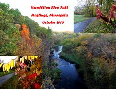 Vermillion River Fall Hastings, Minnesota
