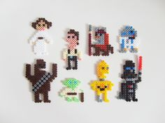 I've seen lots of Star Wars fuse bead designs, but I think these are my favorites!