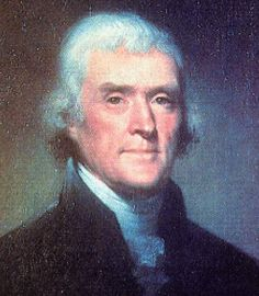 Thomas Jefferson.  When the people fear their government, there is tyranny; when the government fears the people, there is liberty.