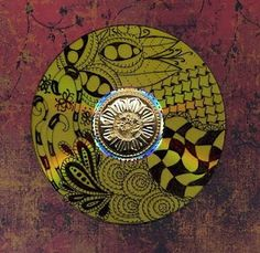 Zentangle on cd!!! i just started zentangle, but i love it! this is a cool idea