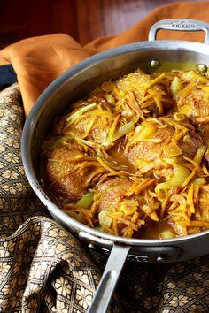 Turmeric Chicken Stew
