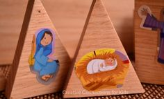 Nativity Blocks from Creative Connections for Kids