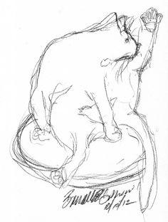 Daily Sketch: Beanbath