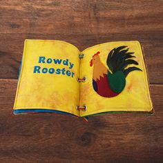 FUN WITH FEATHERS DIY: A QUIET BOOK OF BIRDS #thefeatherplace #feathers #rowdyrooster