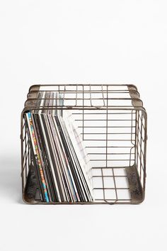 Wire Storage Basket  #UrbanOutfitters