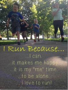 I run because, national running day, reasons why i run