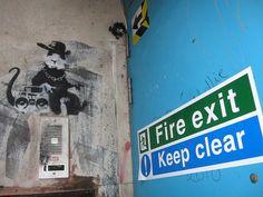 Banksy 'Gangsta Rat' Liverpool