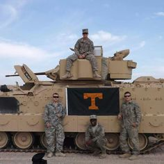 Tennessee Volunteers reporting for Duty!!