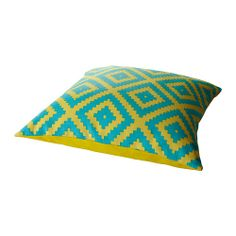 LAPPLJUNG FÅGEL Cushion IKEA Reversible; a different pattern on each side. Zipper makes the cover easy to remove for washing.